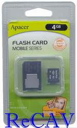 Memory Stick Micro M2 4GB+adaptér