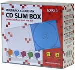 obal CD slim COLOR MIX 10-Pack
